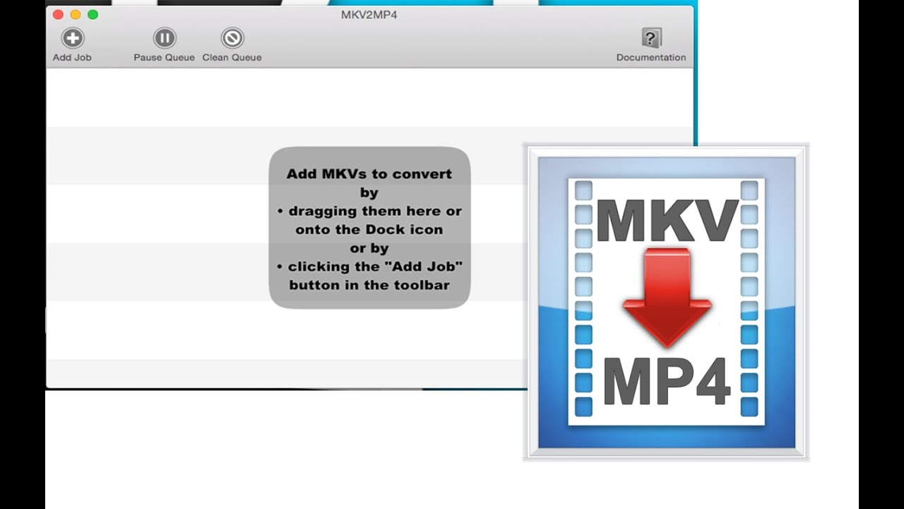 how to change mkv file to mp4