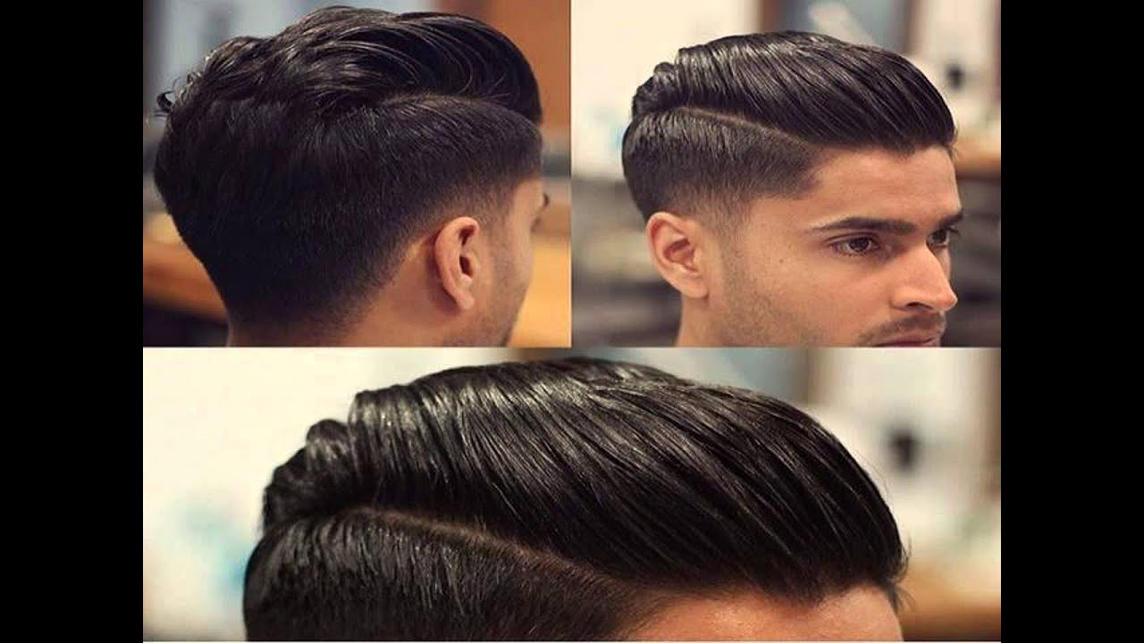undercut hairstyle pomade