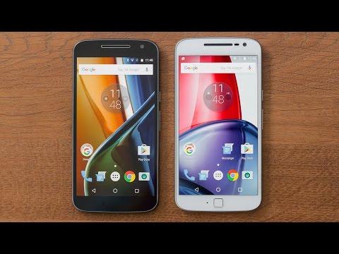 Moto G4/ Moto G4 Plus - Diferenças e semelhanças