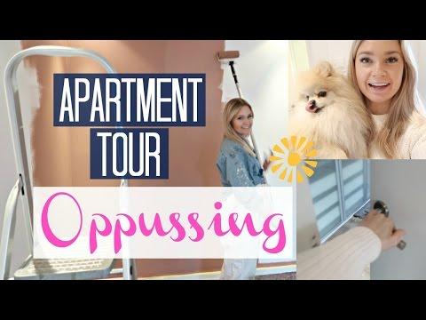 Apartment tour//vår leilighet//før og etter - Helene Ragnhild