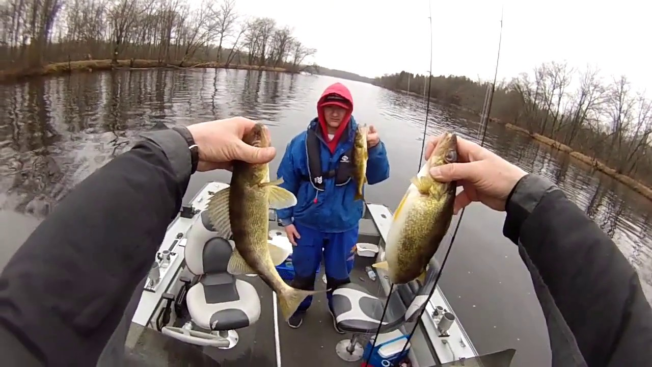 Wisconsin river walleye fishing march 26th 2017 vertical for Wisconsin out of state fishing license