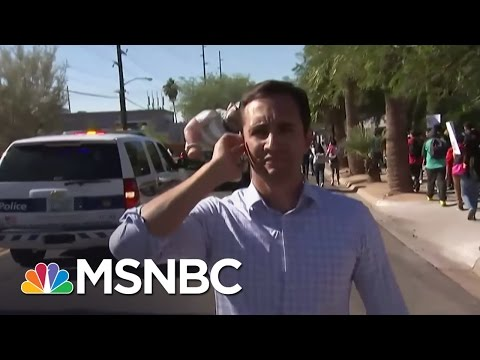 Arizona Students Walk Out Of School To Canvass | MSNBC
