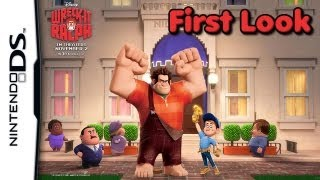 Game | Wreck It Ralph First Look Nintendo DS | Wreck It Ralph First Look Nintendo DS
