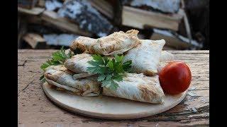 Лаваш с сыром сулугуни на мангале. Кулинария. Рецепты. Понятно о вкусном.