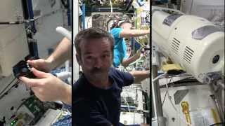 Getting a Haircut in Orbit - The International Space Salon | CSA ISS HD Video