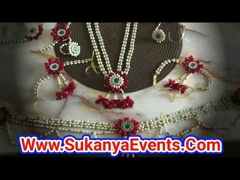 Dohale Jevan Best Flower Ornament Call Sukanya 9921993996 Youtube