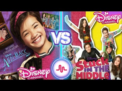 Andi Mack VS Stuck In The Middle Musical.ly Battle  New Disney Channel Stars Musically