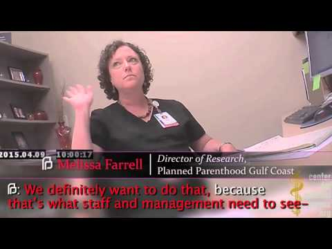 Planned Parenthood Houston Admits Accounting Gimmicks Hide Baby Parts Sales, Invoices Charge $8,000