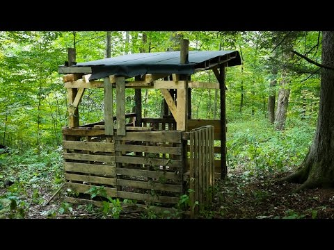 Homemade Hunting Blinds