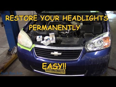 How To Super Clean Your Headlights – PERMANENTLY