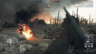 Battlefield 1 - Conquest - River Somme - Keep on Faillin'