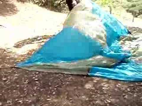& Setting up a Megalight Tent for use with Alpacka Dory - YouTube