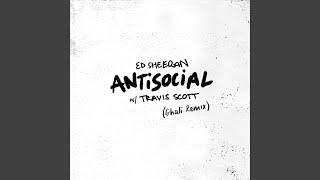 Gambar cover Antisocial (Ghali Remix)