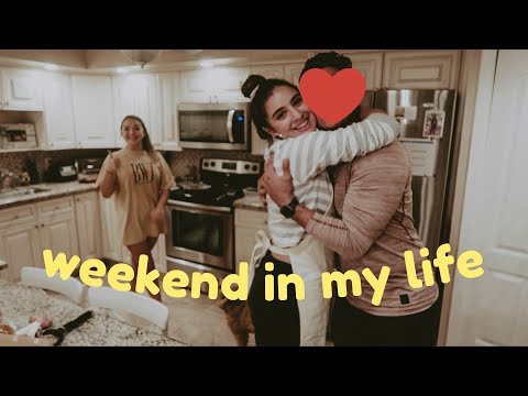 weekend in my life + meet my BOYFRIEND (;