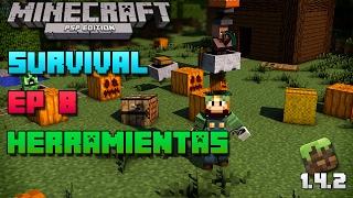 Minecraft PSP | Survival | Episodio 8 | Herramientas | Loquendo | HD | luigi2498