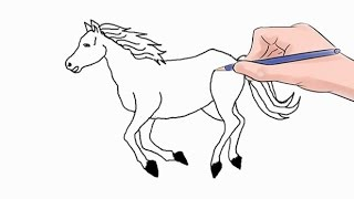How to Draw a Horse Easy Step by Step