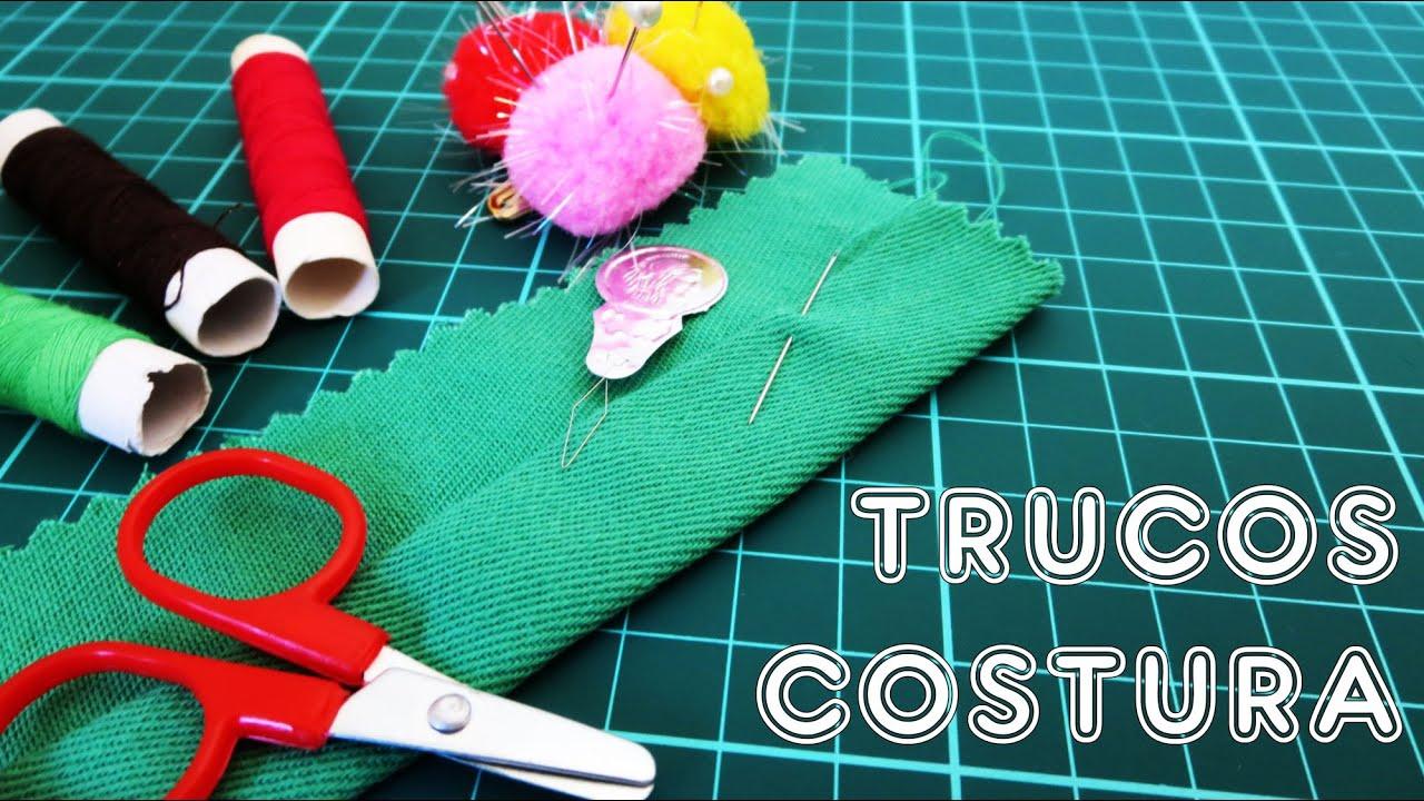3 trucos para coser a mano | COSER ES FACIL - YouTube