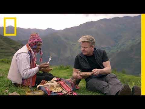 Gordon Ramsay Eats Worms From A Cactus | Gordon Ramsay: Uncharted