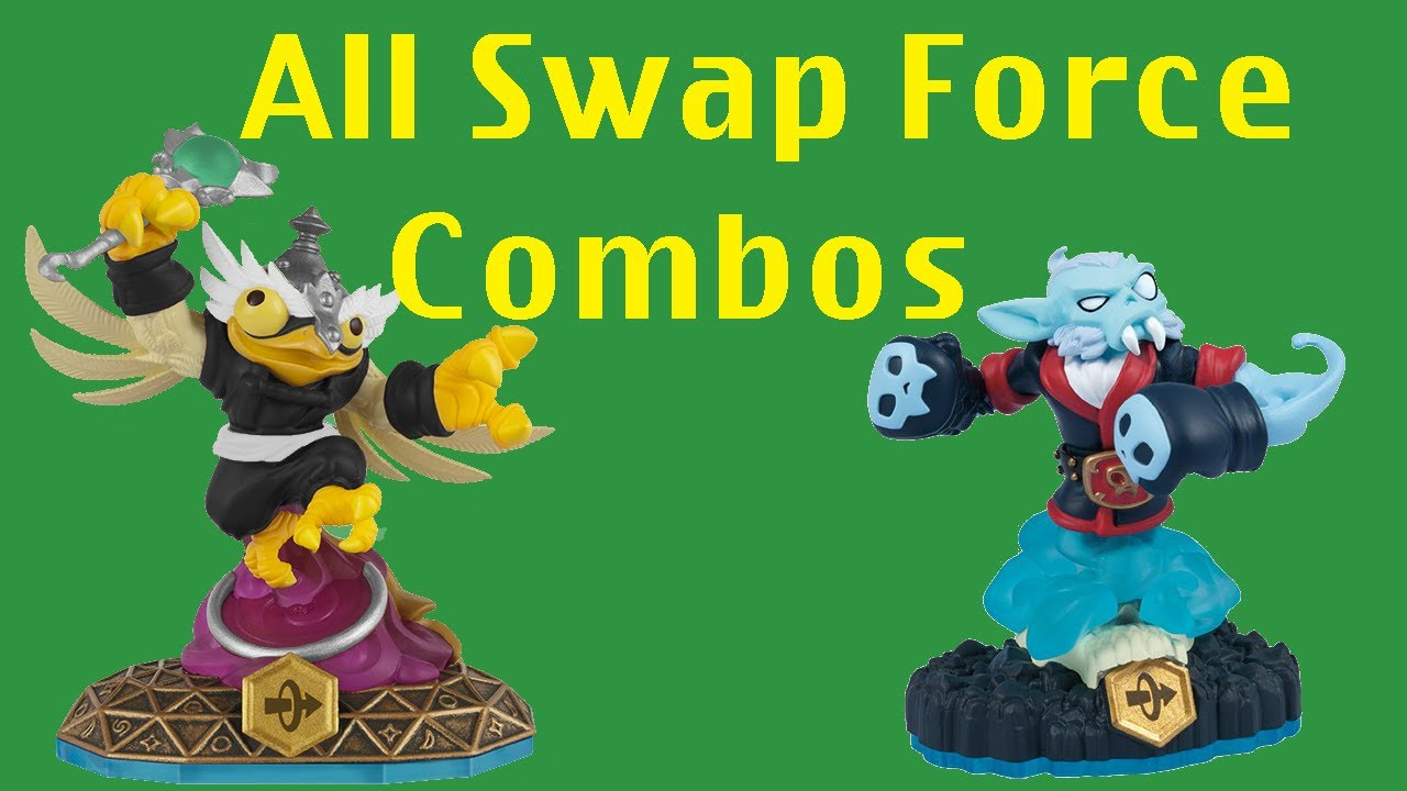 Uncategorized Skylanders Swap Force.com skylanders swap force all 256 combinations youtube combinations