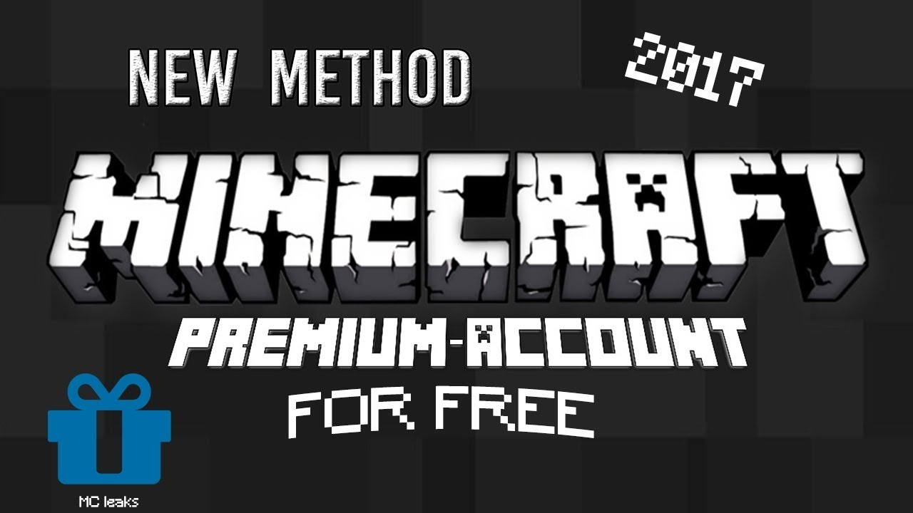 How To Get Minecraft PREMIUM Accounts For FREE 2017 (Easy