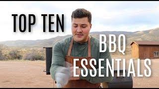 My Top 10 Barbecue Essentials