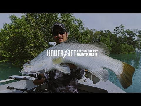 Topwater Barra Action In Northern Territory, Australia: BONE Hoverjet 130F