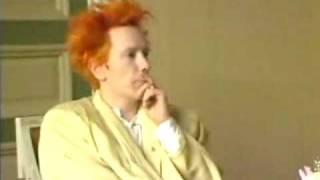 Johnny Rotten  - John Lydon IN FINLAND -  omg hilarous ROFLMFAO