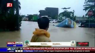 Download Video Jalan Utama Samarinda-Balikpapan Putus Akibat Banjir MP3 3GP MP4