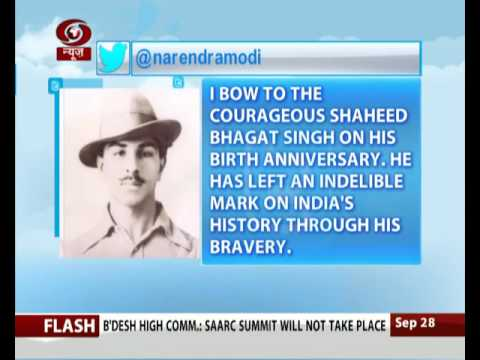 Prime Minister pays tribute to revolutionary Bhagat Singh