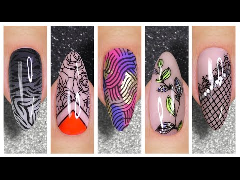 Nail Art Designs 2020 | New Stamping Nail Art