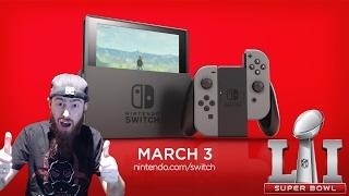 Nintendo Switch Super Bowl LI Commercial Extended Cut Analysis & Secrets!