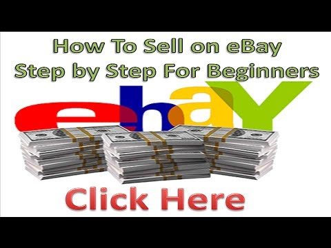 How To Sell on eBay For Beginners Step by Step