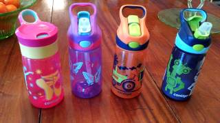 Kids Contigo Striker & Gracie Water Bottle Review