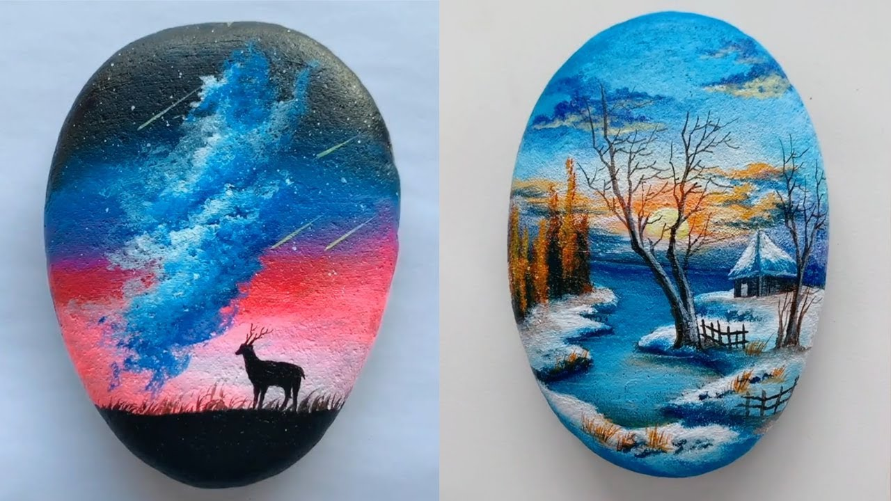 8 Best Rock Painting Ideas That Will Catch Your Eye Youtube