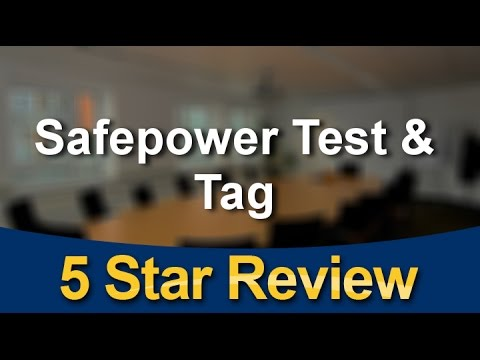 Safepower Pakenham VIC Test and Tag Remarkable Review Victoria