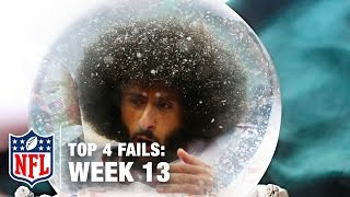 Top 4 Fails (Week 13) | Shek Report | NFL
