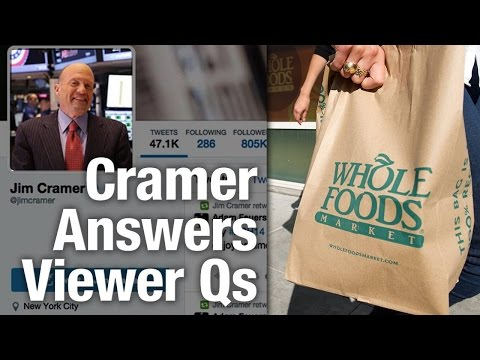 Jim Cramer Says Buy Marriott at $70, Whole Foods Near a Bottom