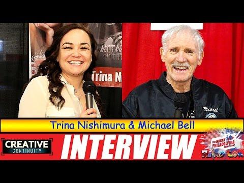 Attack on Titan and GI Joe: Trina Nishimura and Michael Bell - S3E23 Creative Continuity