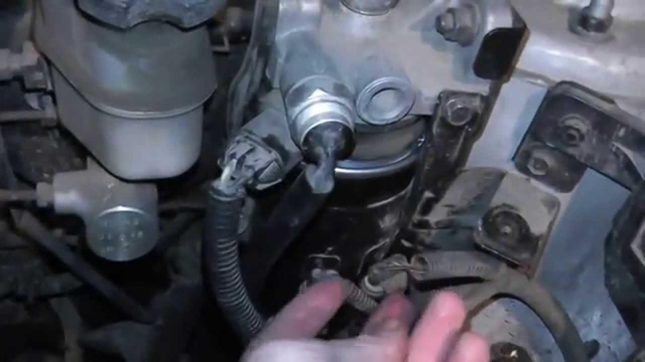 Замена топливного фильтра Hyundai Tucson дизель Youtube