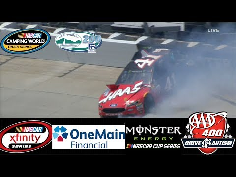 2017 NASCAR Highlights, Ben Harbor 200, One Main 200, AAA 400, 6/2 - 6/4/2017