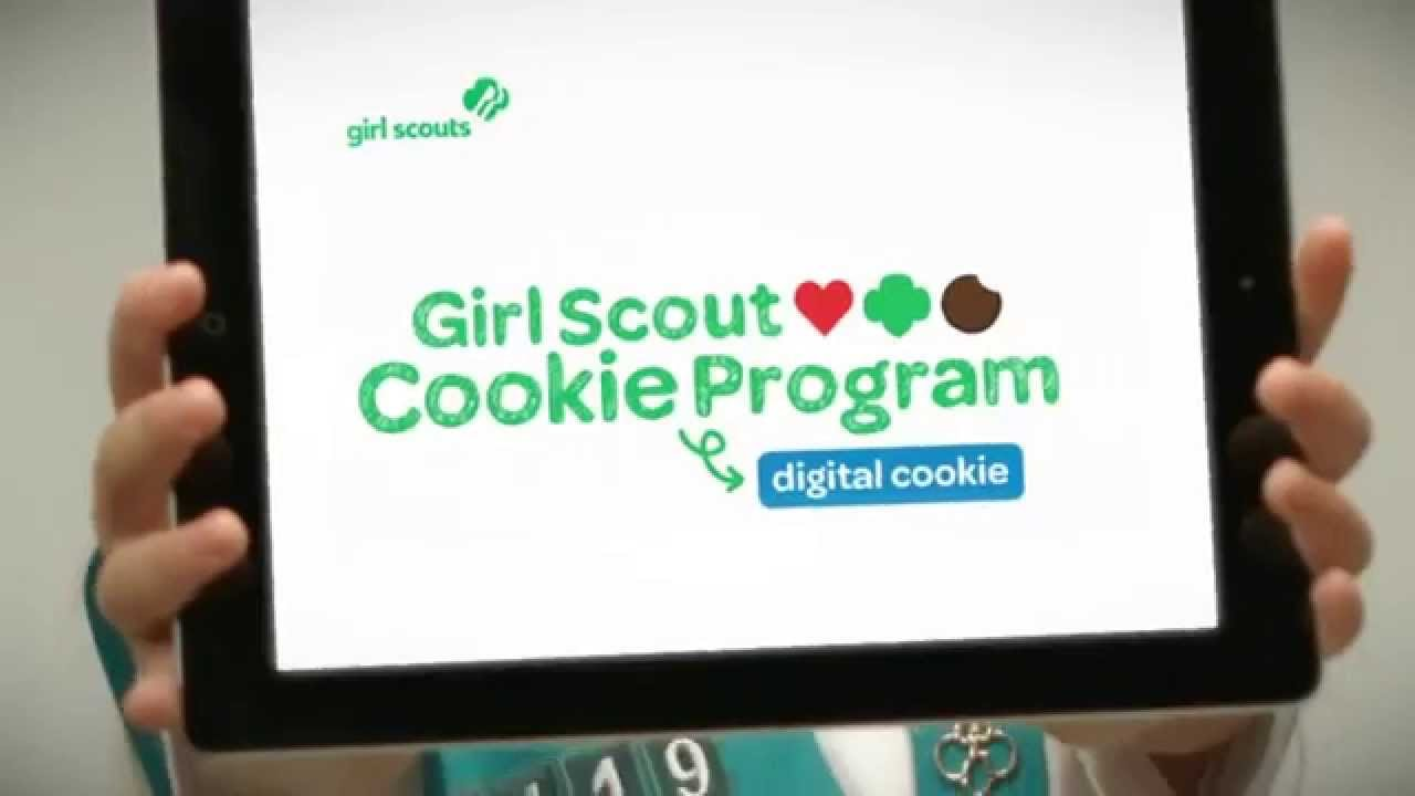 girl scout cookie business goes digital   youtube