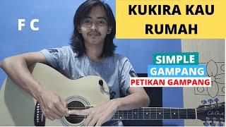 TUTORIAL PETIKAN (Kukira Kau Rumah - Amigdala) (Tutorial Gitar) CHORD SIMPLE GAMPANG