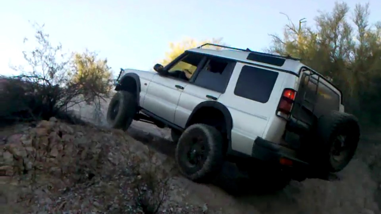 land rover discovery 2 lift tires