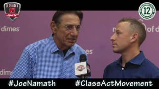 Broadway Joe Namath on what being a Class Act means