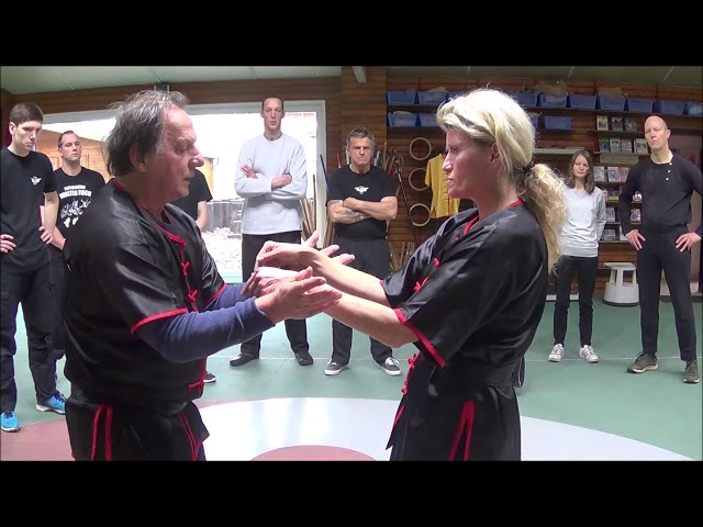 Gm Walter Toch with one off the many Workshops Wing Chun traditionel Live