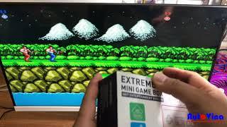Mini HD Game Box [ review đầu chơi game điện tử 4 nút phiên bản nhỏ gọn cổng HDMI ]
