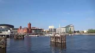 Sony DSC-WX350 Full HD 1080 Video Zoom Test at Cardiff Bay