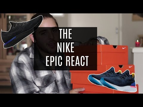 A quick look at the Nike Epic React | VerdugoVibes