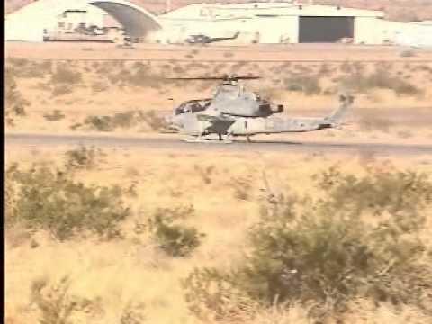Bell AH-1Z Viper Full Autorotations