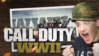 MIJN EERSTE POTJE WW2!! || Call Of duty WW2 Nederlands